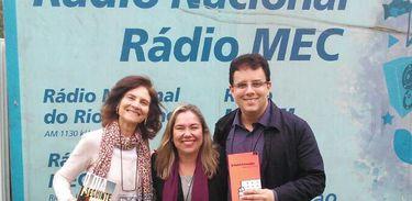Luis Eduardo Matta, Katy Navarro e Fania Benchimol