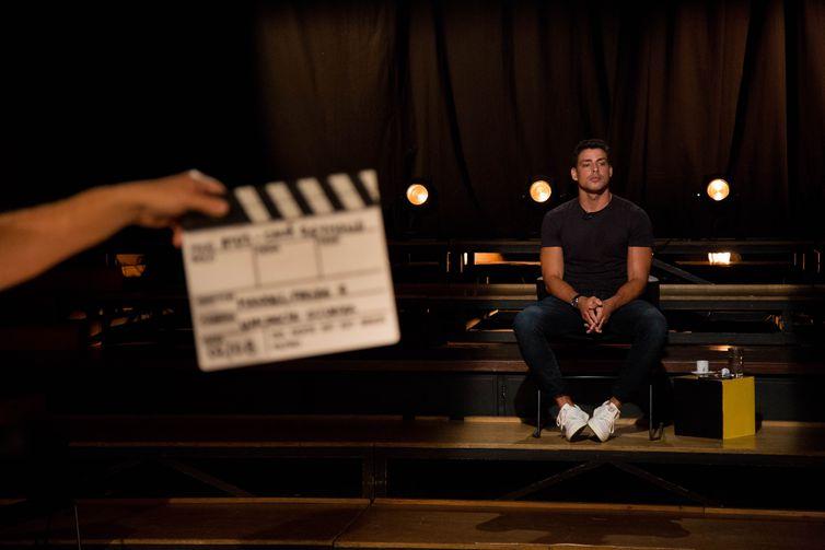 Cauã Reymond é o convidado de estreia da segunda temporada do Atos