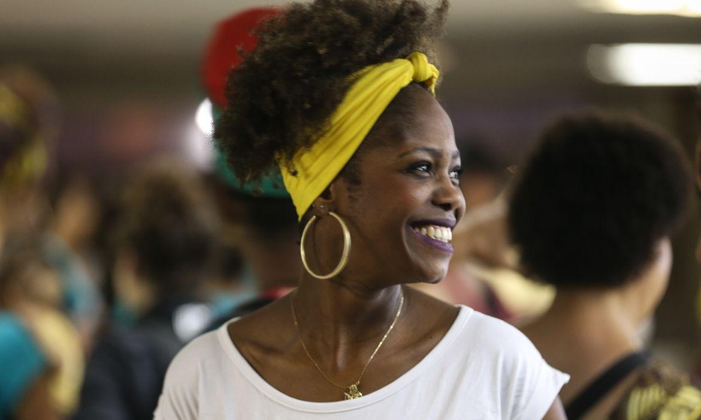 Brasília - Abertura da 9ª edição do Festival Latinidades, na rodoviária do Plano Piloto, maior diálogo e intercâmbio cultural de mulheres negras na América Latina sobre a temática afro  (Marcello Casal Jr/Agência Brasil)
