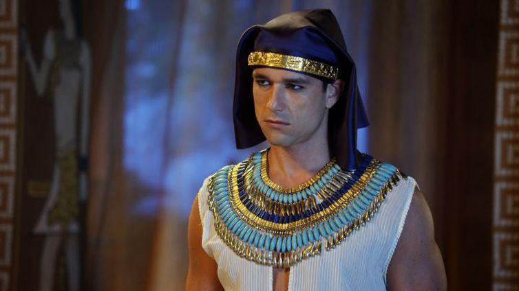 Ramsés conversa com Seti