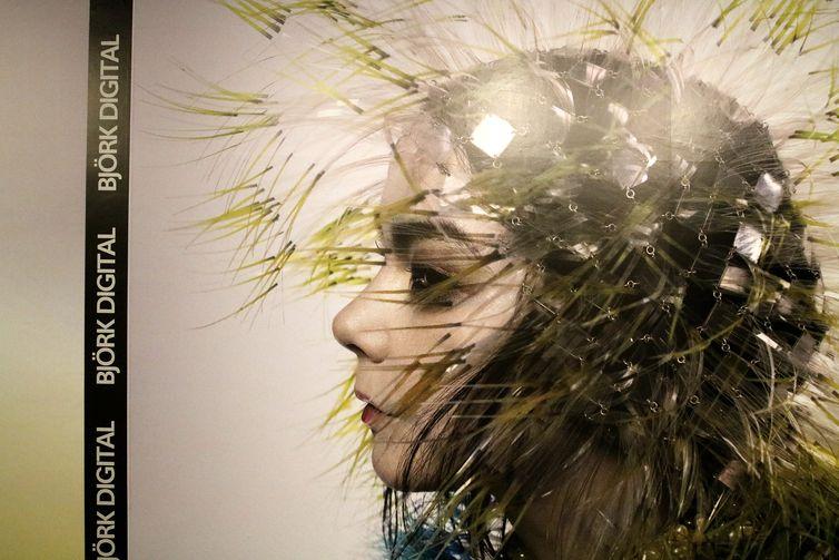 Exposição Bjork Digital abre nesta quarta(10), no Centro Cultural Banco do Brasil(CCBB), no centro do Rio.