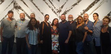 Convidados do Arte Clube ao vivo do Centro Cultural Correios
