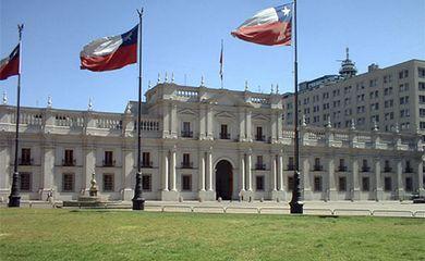 Palácio La Moneda, sede do governo do Chile