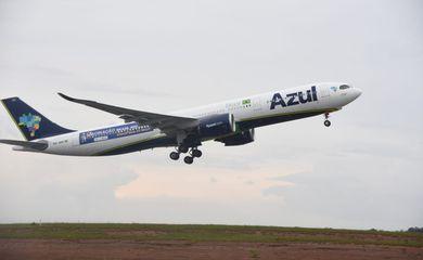 Aeronave trará da Índia 2 milhões de doses da vacina contra a Covid-19 ao Brasil