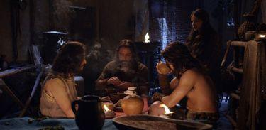 Hebreus se reunem na casa de Joquebede