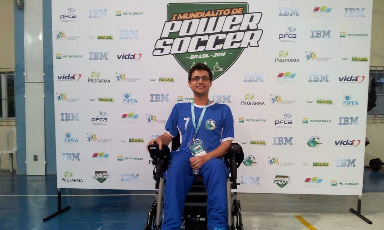 Ramon de Freitas, power soccer