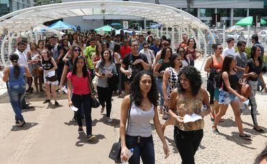 Brasília -  Candidatos participam da segunda aplicação do Enem 2016 (Fabio Rodrigues Pozzebom/Agência Brasil)