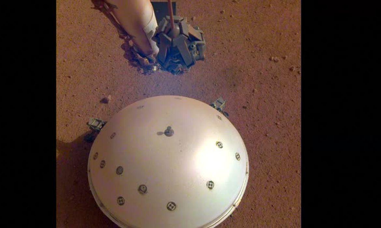 Nasa detecta provável tremor em Marte