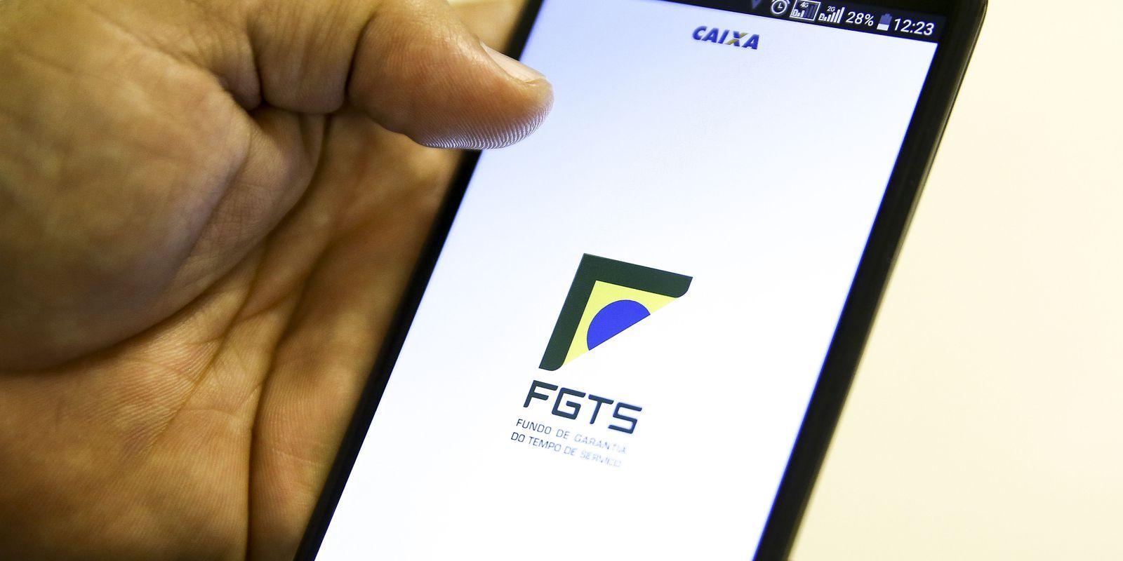 Aplicativo Caixa Econômica Federal- FGTS.