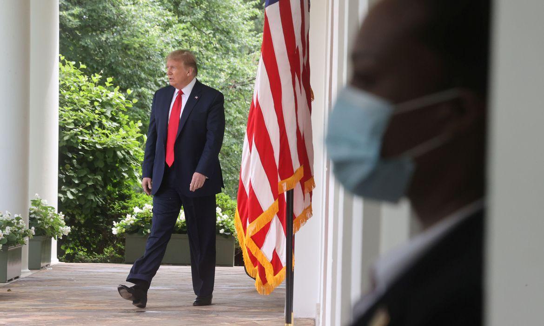 U.S. President Donald Trump, White House in Washington