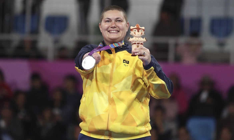 Jogos Parapanamericanos Lima 2019 - Parataekwondo - Debora Menezes -Medalha de Prata