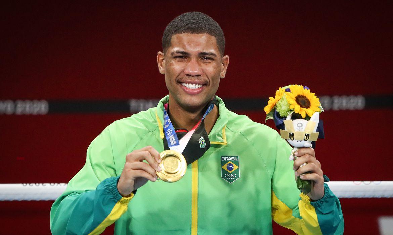 Hebert Conceição é ouro no boxe - Tóquio 2020 - Olimpíada