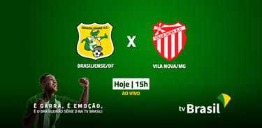 Brasiliense (DF) e Villa Nova (MG) se enfrentam pela Série D