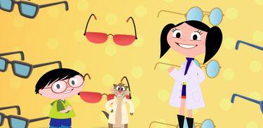 Luna quer saber: Como os óculos funcionam?