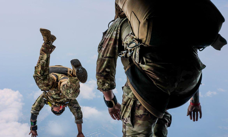 U.S. Army Green Berets Jump Training, USA