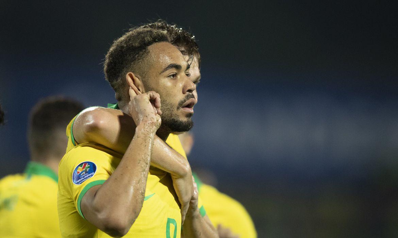 Brasil x Argentina pelo último jogo do Pré-olímpico da Colômbia.- 09/02/2020