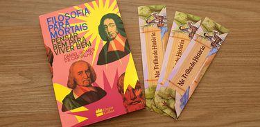 """Livro """"Filosofia para mortais"""", de Daniel Gomes de Carvalho"""