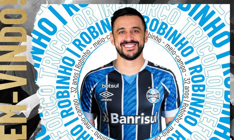 Robinho, novo reforço do Grêmio