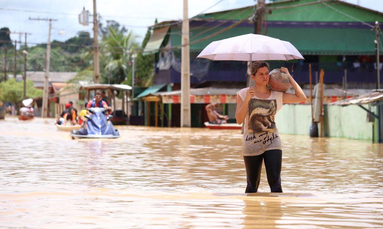 Região de Rio Branco, no Acre (Diego Gurgel/Agência de Notícias do Acre)