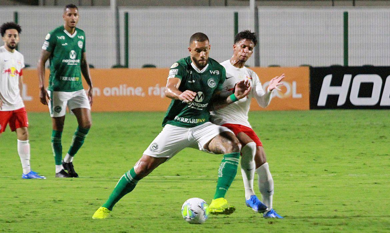 Goiás não sai do zero com o Bragantino e está rebaixado.