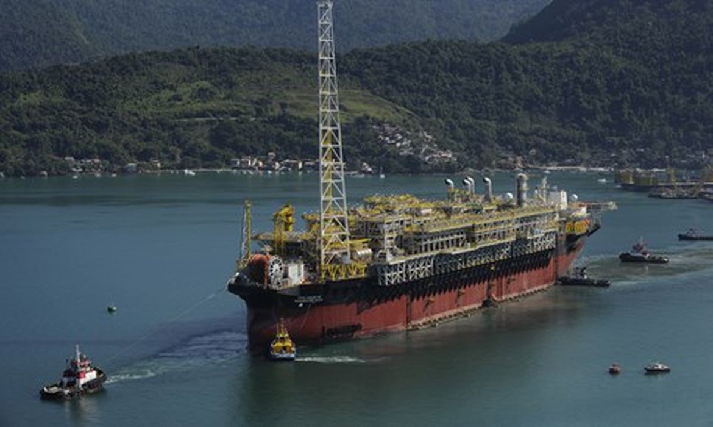 Navio-plataforma Petrobras