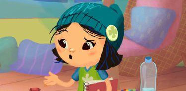 Mindi é uma menina supercriativa