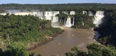 O Parque Nacional do Iguaçu é Patrimônio Natural da Humanidade