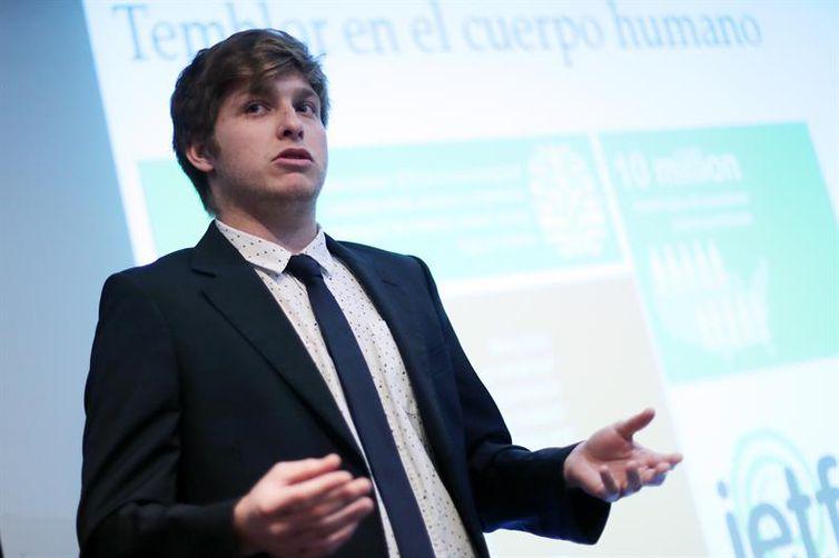 O pesquisador chileno Felipe Nagel