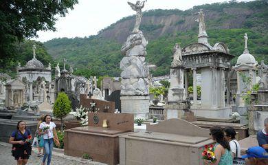 Cemitério São João Batista em Botafogo, zona sul do Rio