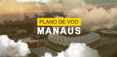 Plano de Voo sobrevoa Manaus