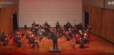 Orquestra Sinfônica Brasileira na Sala Cecília Meireles