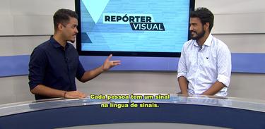 Jhonatas Narciso, do Jornal Visual, esclarece mitos sobre comunidade surda