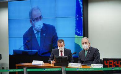 Câmara: Audiência Pública com Ministro da Saúde. Ministro do Estado da Saúde, Marcelo Queiroga.