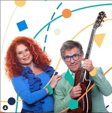 Dupla Sandra Peres e Paulo Tatit é sucesso entre pais e crianças