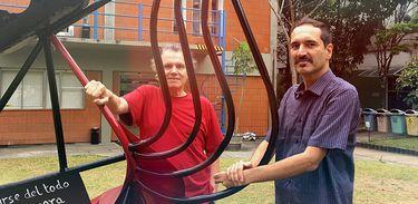 Arrigo Barnabé e Luiz André Cherubini