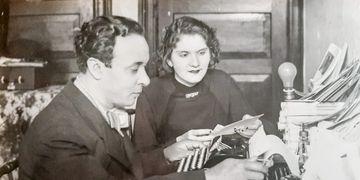 Livro sobre Pery e Estelita retrata romance nas ondas do rádio