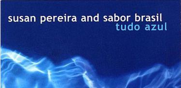 Capa de 'Tudo Azul', de Susan Pereira