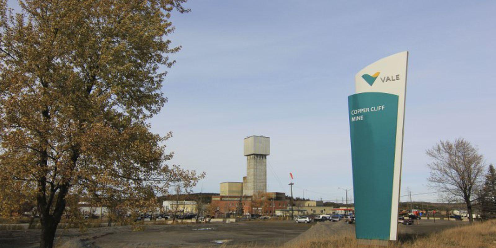Mina da Vale em Sudbury, Canadá.