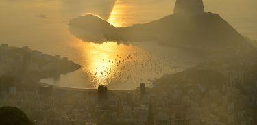 Rio de Janeiro ao entardecer