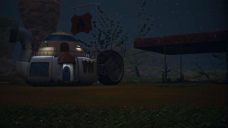 Nino e sua família se mudam para posto de gasolina abandonado