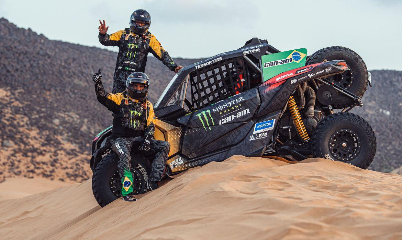 Reinaldo Varela e Maykel Justo venceram últimas das 12 etapa do rali Dakar 2021