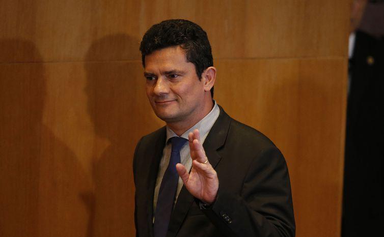 Entrevista coletiva com o juiz Sérgio Moro