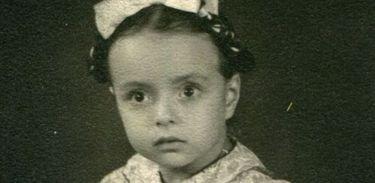 Escritora Nélida Piñon quando criança