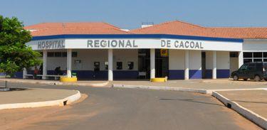 Hospital Regional de Cacoal, em Rondônia