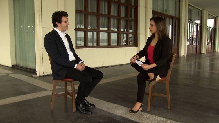 Presidente da Sociedade Brasileira de Geriatria e Gerontologia do Distrito Federal, Thiago Póvoa, em entrevista ao Impressões