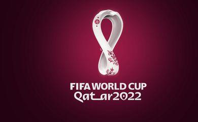 Logotipo oficial da Copa do Catar 2022