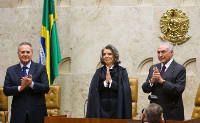 A ministra Cármen Lúcia assume a presidência do STF