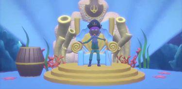 Astrobaldo conhece o castelo de Netuno