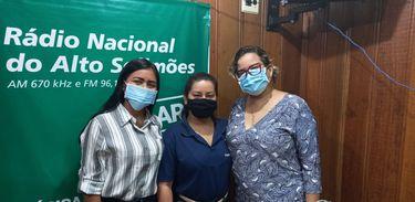 Vereadoras Marcela Tenório e Nagela Araújo participaram do programa Alô Fronteira