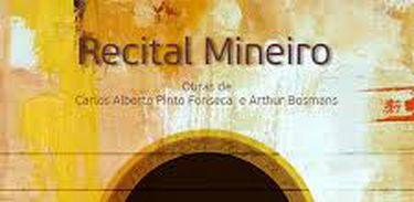 Capa CD Recital Mineiro